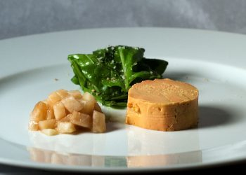 1280px-Moulard_Duck_Foie_Gras_with_Pickled_Pear